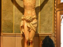 Racism among traditional Catholics at this parish? No way.