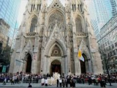 st patrick cathedral's first latin mass
