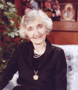 laywoman of the year, dr alice von hildebrand