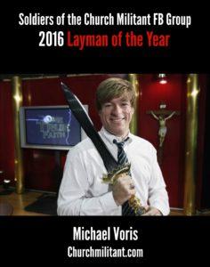 michael voris layman of the year.