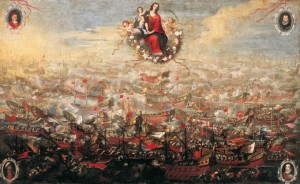 batalla-de-lepanto, lepanto, battle of lepanto, rosary, our lady of the rosary