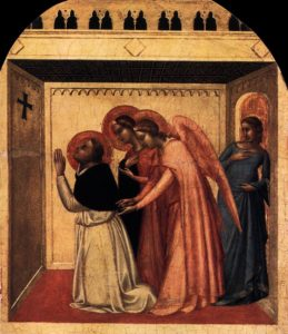 Struggle with Chasity: The Temptation of St Thomas Aquinas Bernardo Daddi