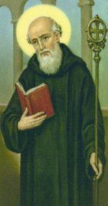 prayer of st benedict of nursia