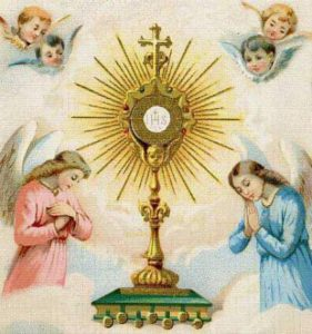 adoration of the blessed sacrament - gain a plenary or partial indulgence