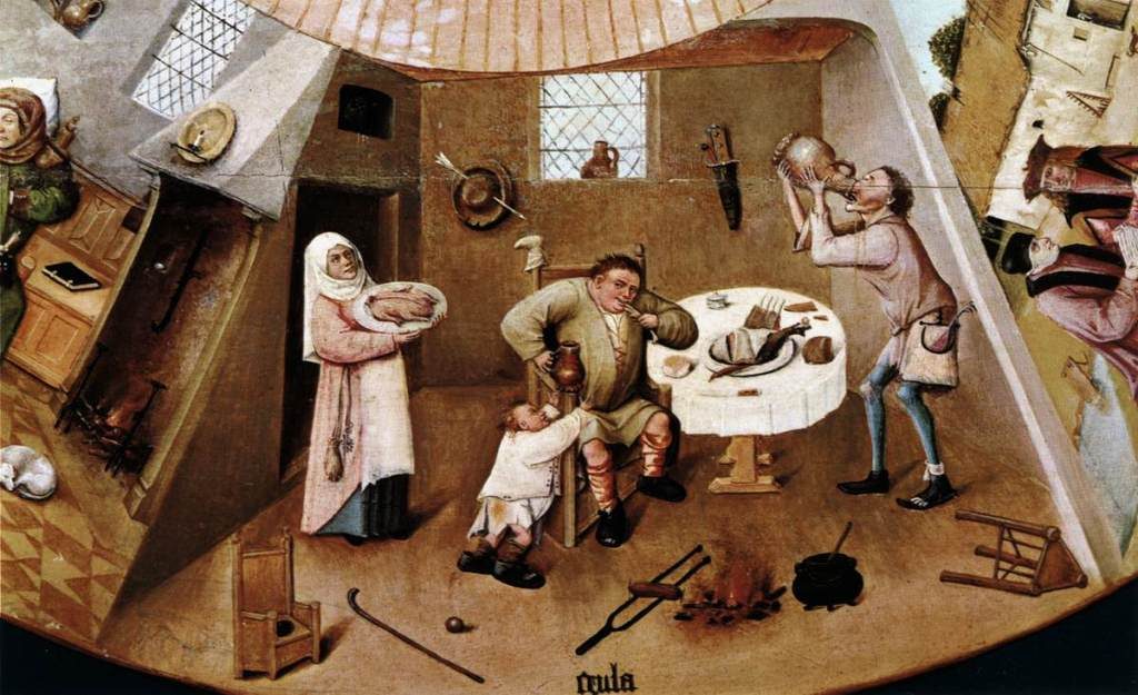 remedies against gluttony