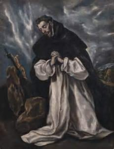 change God's mind in prayer st Dominic