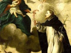 mary gave st dominic the rosary