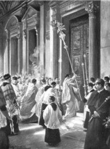 pre-1955 Holy Week liturgies