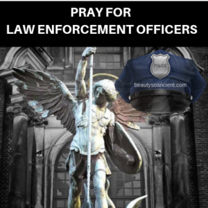prayers for law enforcement officers