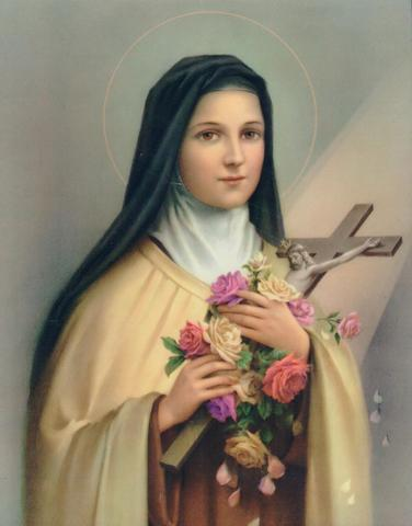 morning offering by St Therese de Lisieux