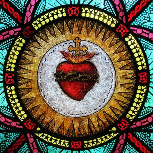 commendation to the sacred heart
