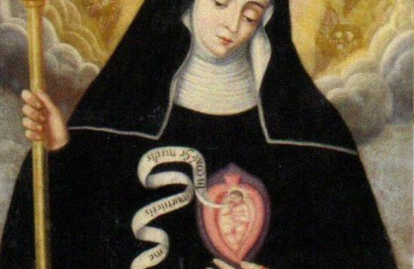 st gertrude the great hail mary
