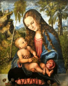 to mary for safekeeping