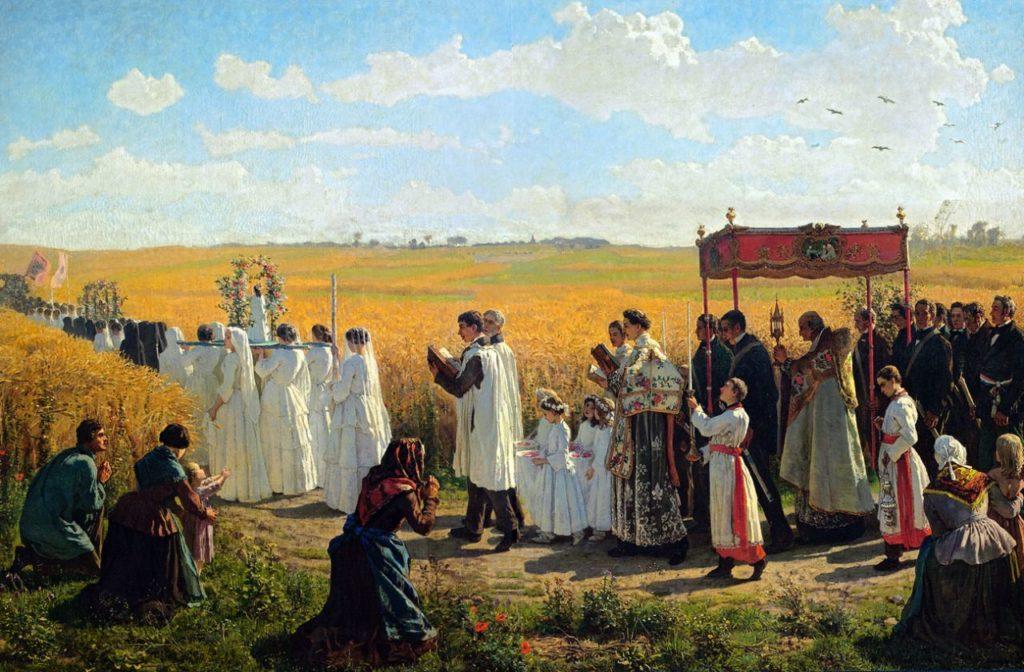 Eucharistic processsions